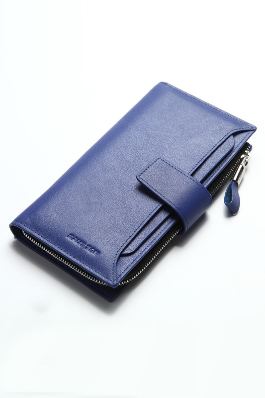 Wallet HAUTTON Wallet hot wallet ady small wallet hasp purse clutch top quality leather purse female money bag small pocket brand