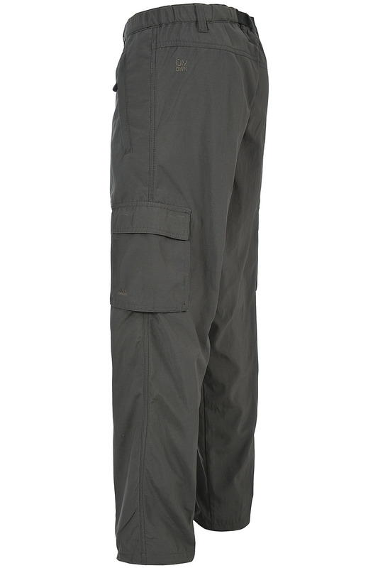 Фото 4 - pants Trespass цвет khaki