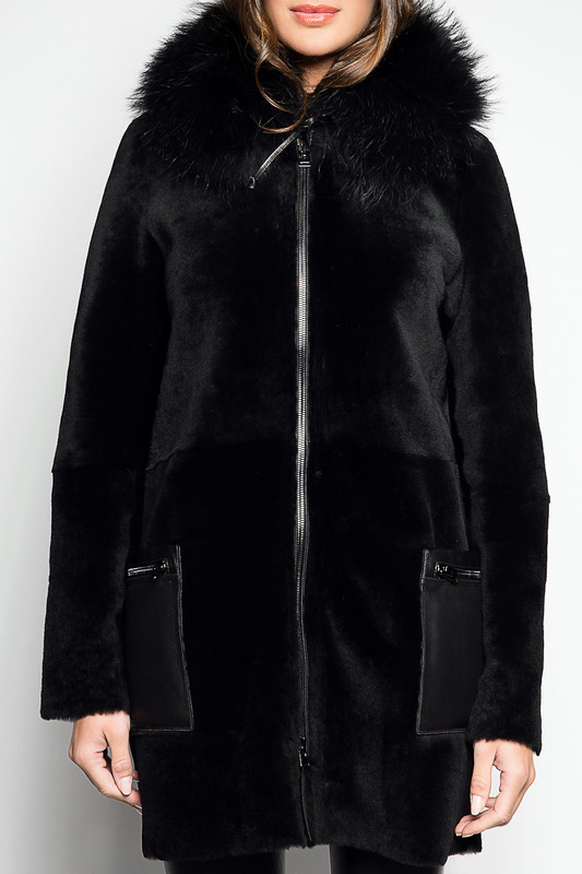 FUR COAT Giorgio Дубленки с капюшоном half length fur coat manakas half length fur coat