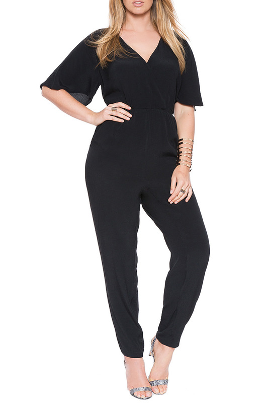 JUMPSUIT Exline JUMPSUIT solid wide leg cami jumpsuit
