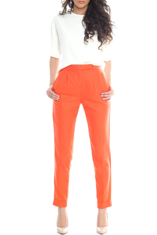 TROUSERS Emma Monti Брюки классические trousers emma monti trousers