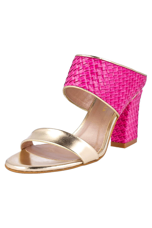 Фото - high heels sandals ROBERTO BOTELLA цвет fuchsia