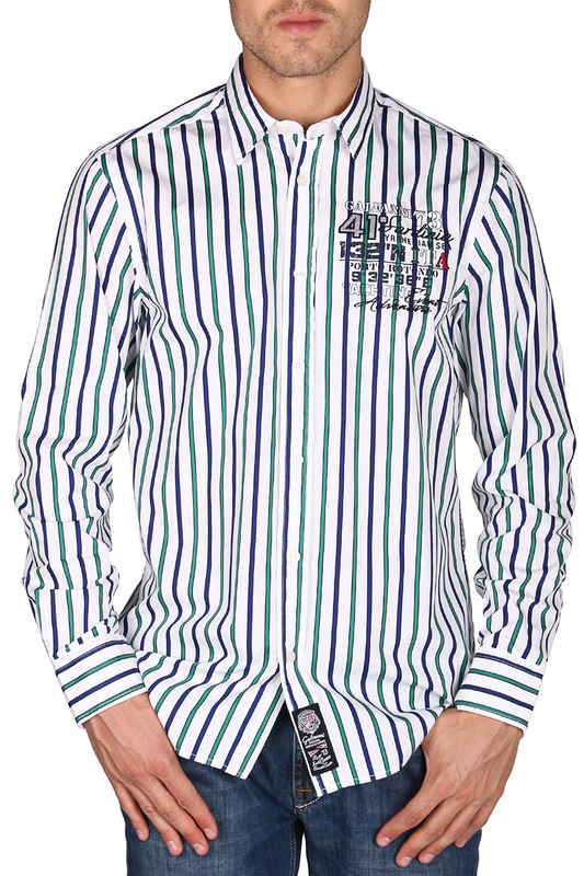 Рубашка Galvanni GLVSM1039121_VIRIDIS_MULTI_STRIPED