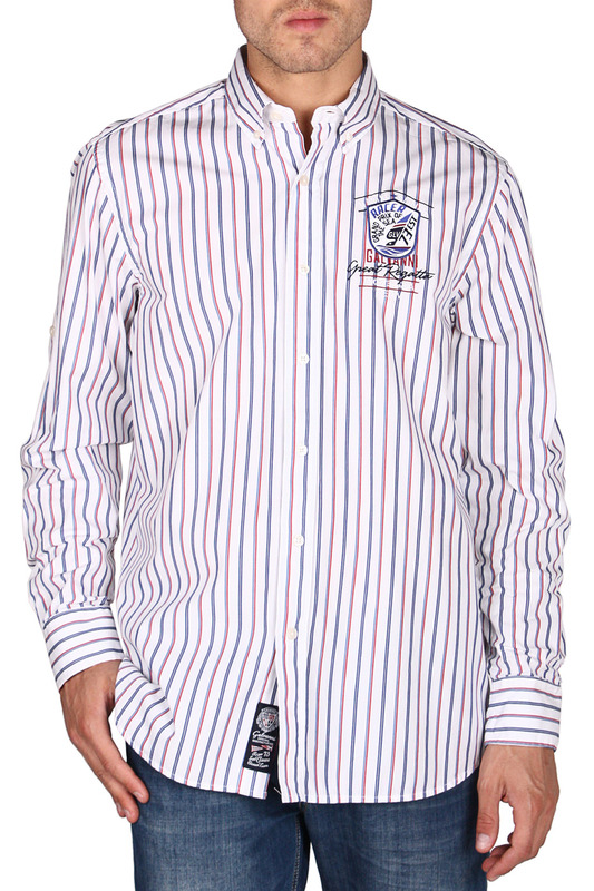 Рубашка Galvanni GLVSM1039161_CHILI_PEPPER_MULTI_STRIPED