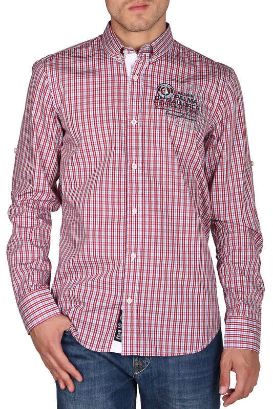 Рубашка Galvanni GLVSM1039561_CHILI_PEPPER_MULTI_CHECKED