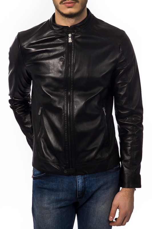 Фото - jacket Trussardi Collection цвет black