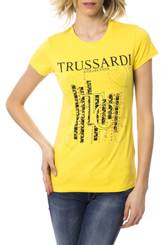 Футболка Trussardi (Труссарди) 6442_GINOSA_GIALLO_YELLOW