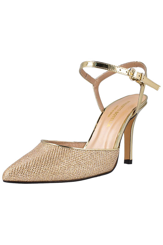 Фото - high heels sandals ROBERTO BOTELLA цвет gold