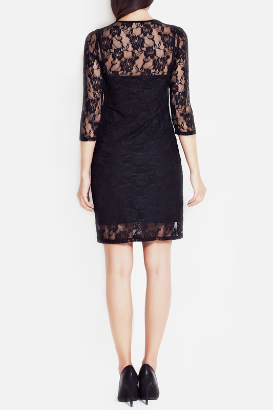 DRESS Awama Awama S17_BLACK