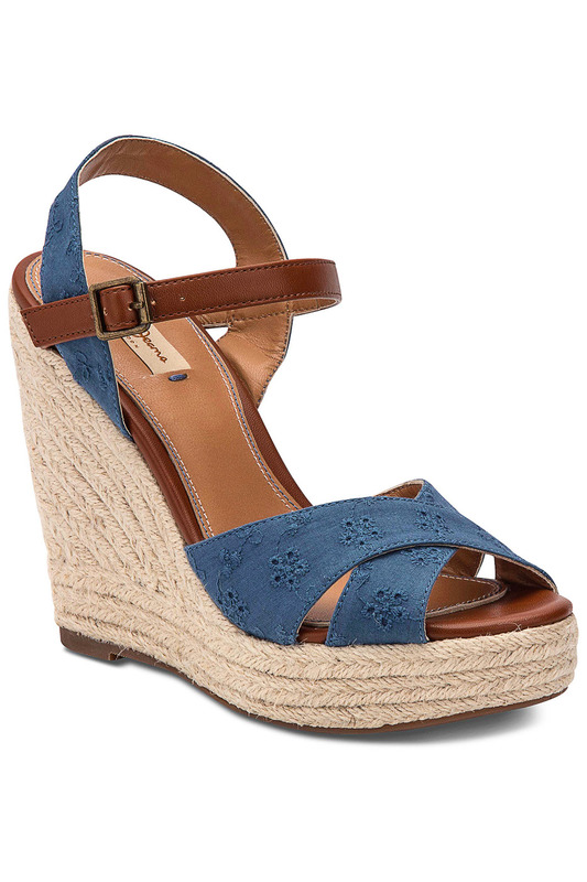 wedge sandals Pepe Jeans