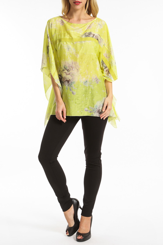 tunic Roberta Scarpa tunic rose print tunic dress