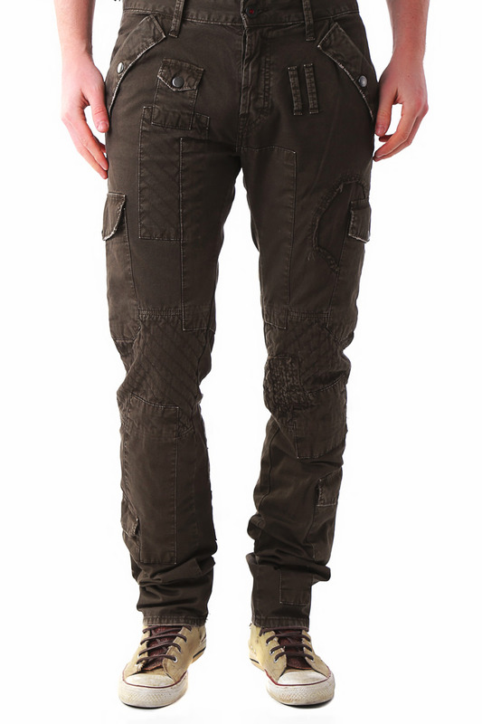 Pants BRAY STEVE ALAN Брюки с карманами 3 4 pants bray steve alan брюки карго