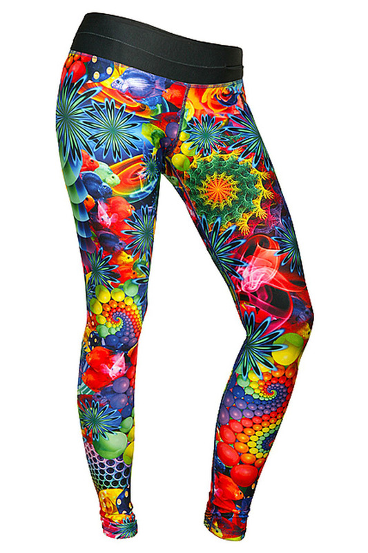 Леггинсы FEELJ! LEGGINGS_SURREAL_COLOURFUL