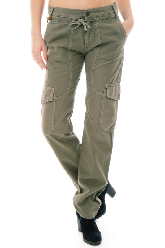 Фото - Trousers Sexy Woman цвет army green