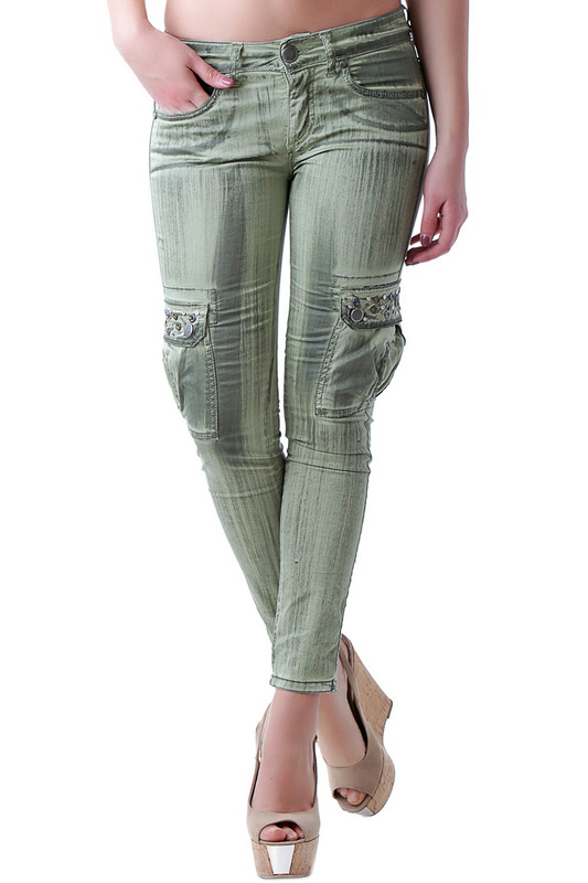 Фото 1 - pants BRAY STEVE ALAN цвет green