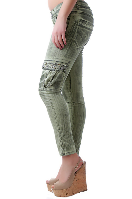 Фото 3 - pants BRAY STEVE ALAN цвет green