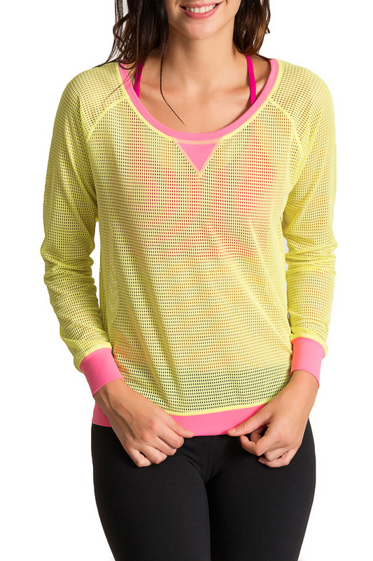 Футболка PURE APPAREL P240005_LIME_BUBBLE_GUM_PINK