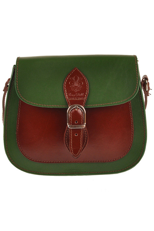 Сумка FLORENCE BAGS 661708_GREEN_BROWN
