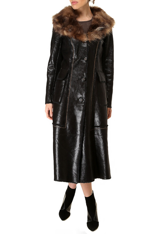 sheepskin coat Isaco & Kawa Дубленки тонкие sheepskin coat giorgio di mare sheepskin coat