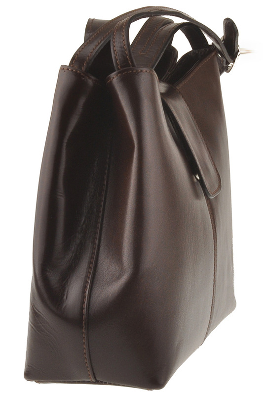 Фото 6 - bag Latteemilie цвет dark brown