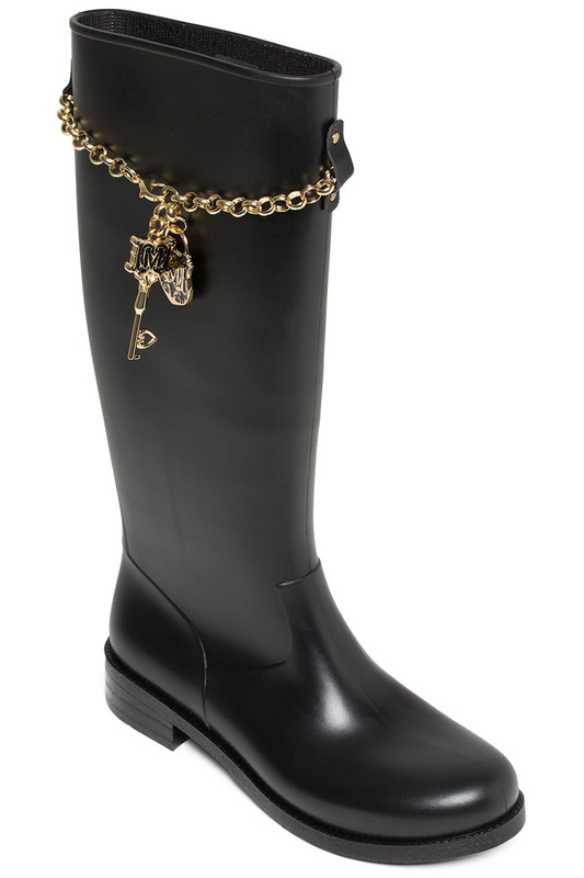 gum boots Love Moschino
