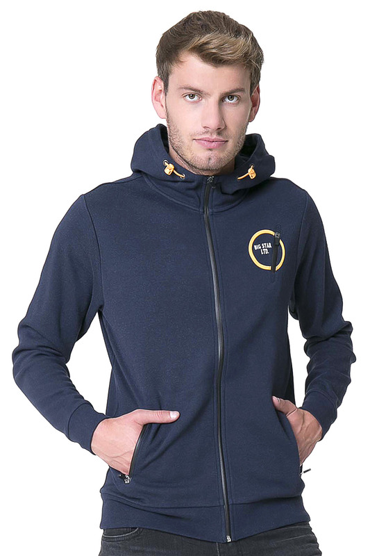 Толстовка BIG STAR BALLANTE_ZIP_HOOD_SWEAT_SLIM_475