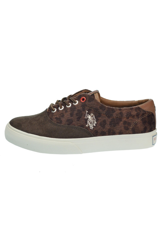 Женские кеды U.S. Polo Assn. SD29USP00015_DARK_BROWN_GALAD4249W3_WS1