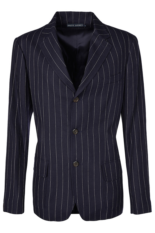 Жакет Ralph Lauren Пиджаки под джинсы 200.42173_PINSTRIPED_DARK_BLUE