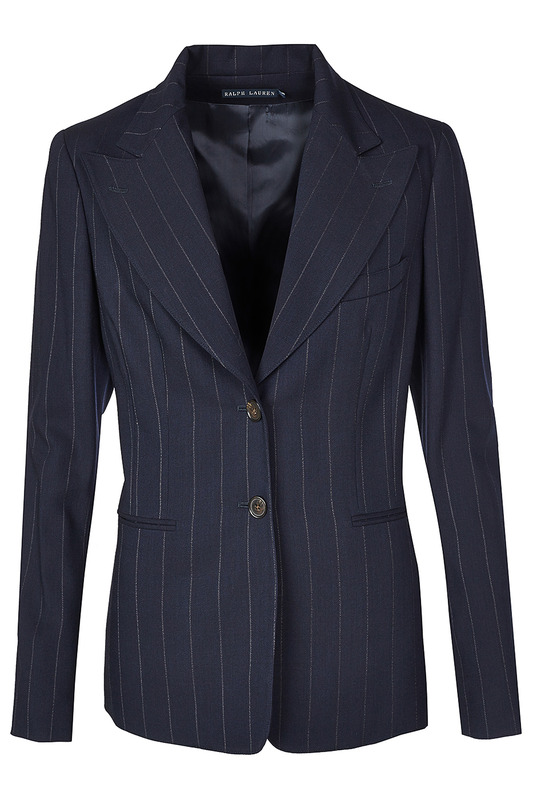 Жакет Ralph Lauren Пиджаки под джинсы 200.42182_PINSTRIPED_DARK_BLUE