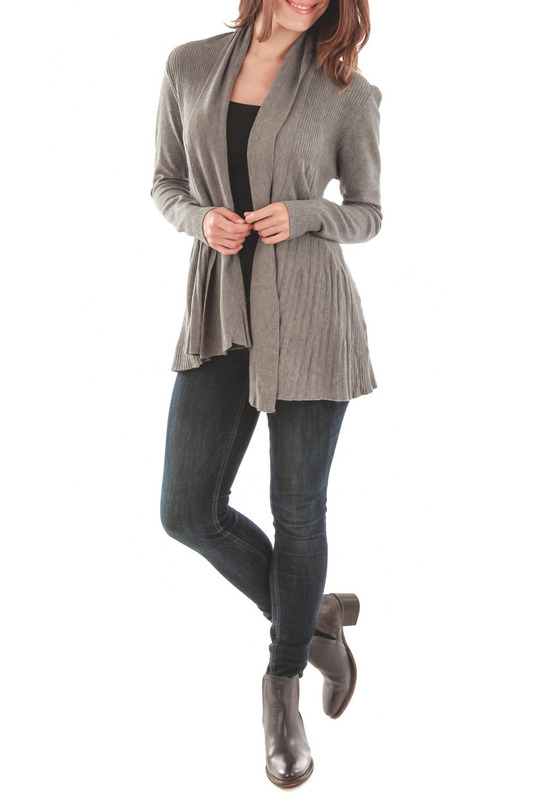 Кардиган CASHMERE 4 EVER PC6213_GRIS