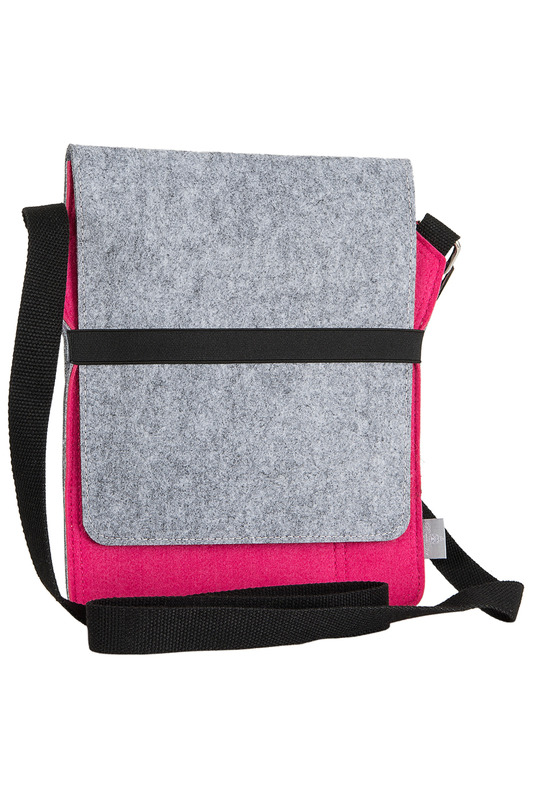 Фото 4 - bag for tablet Burgmeister цвет pink and gray