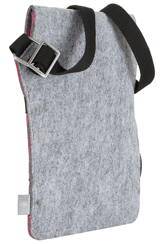 Фото 5 - bag for tablet Burgmeister цвет pink and gray