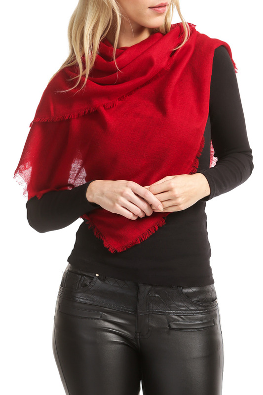 ���� Kashmir House CASHMERE_D_RED_SQ_242_D_RED