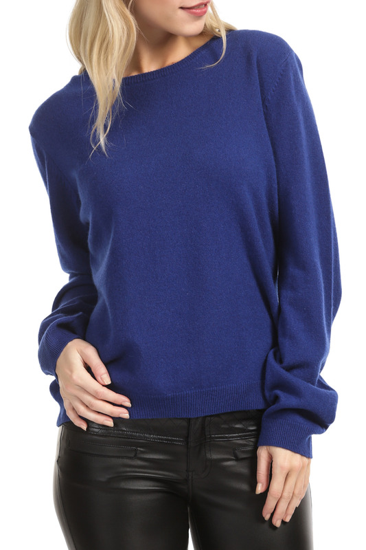 Пуловер Scott & Scott London Cashmere 1214_996_SA_DAZZLING_BLUE