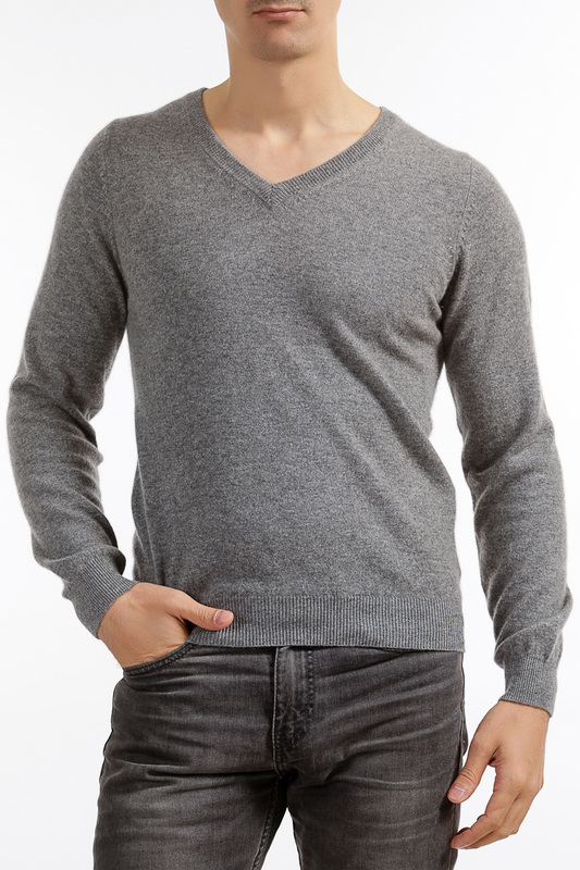 Пуловер Scott & Scott London Cashmere 1310_197_SA_MID_GREY