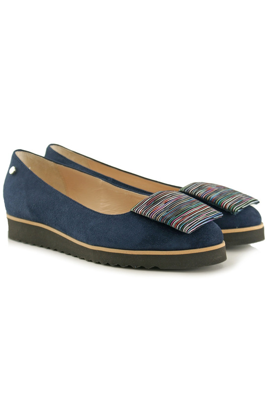 Купить Shoes BOSCCOLO, Туфли на платформе, Navy