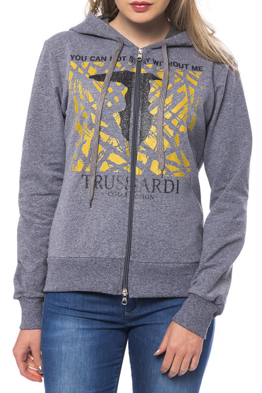 Толстовка Trussardi (Труссарди) A6862_VEGLIE_GRI_MD_MD_GREY