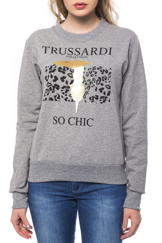 Trussardi Толстовка A6871_NOLA_GRI_MD_MD_GREY