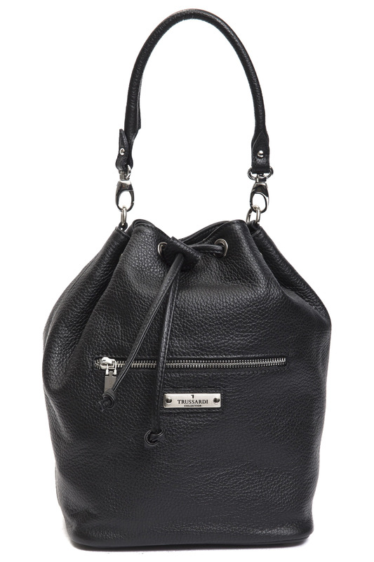Сумка Trussardi (Труссарди) S11_VALLEVE_NERO_BLACK