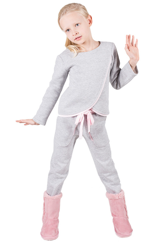 TROUSERS Dodo kidsTROUSERS<br><br>Размер RU: 98-104<br>param_1: 1<br>Возраст: Детский<br>Пол: Женский<br>Цвет: Grey