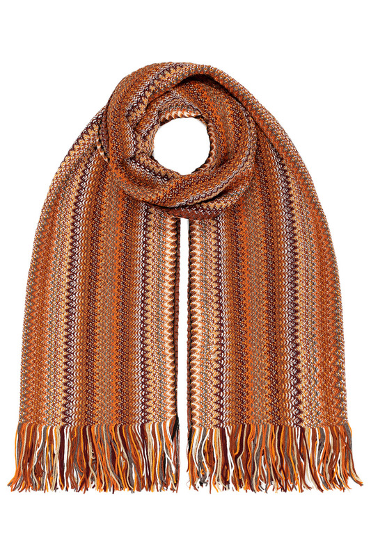 Scarf Missoni Scarf fresh style dot embellished long scarf for women