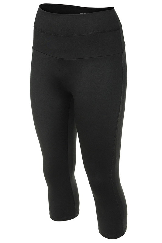 Женские леггинсы GWINNER BELLY_CONTROL_LEGGINGS_CLIMALINE_BLACK