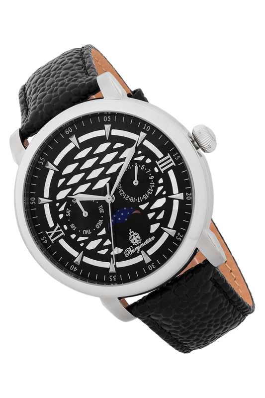 watch Burgmeister watch curren 8082 quartz movement analog display men watch stainless wrist watch