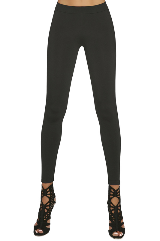 leggings BAS BLEU leggings contrast panel leggings
