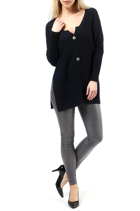 Кардиган Scott & Scott London Cashmere 1616_069_NAVY_164