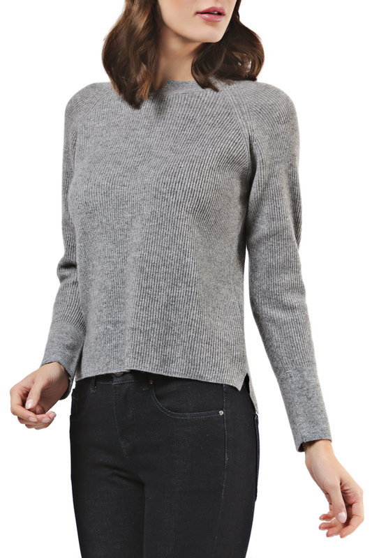 Пуловер Scott & Scott London Cashmere 1215_1000_MID_GREY_493
