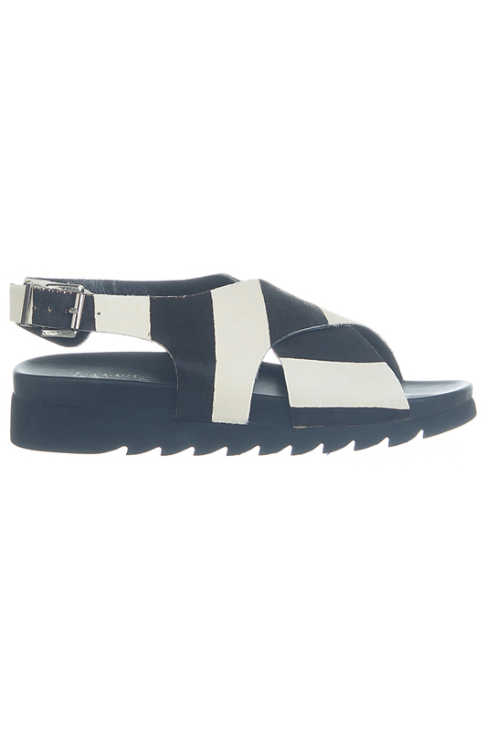 sandals Ioannis sandals ankle strap lace up chunky heel sandals