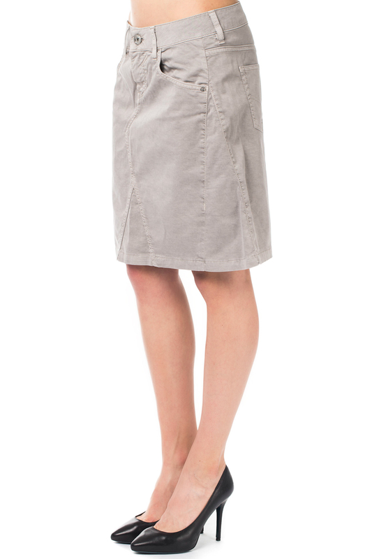 skirt Gas skirt knot front zip up back skirt