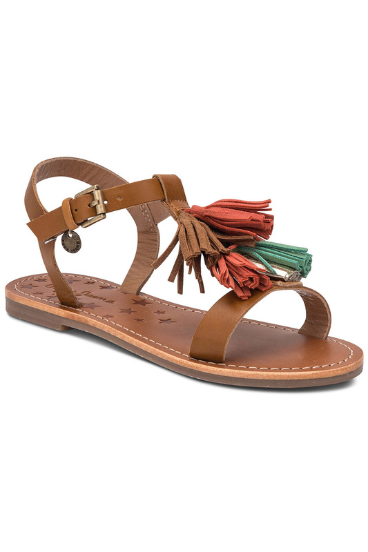 Sandals Pepe Jeans Sandals 2017 summer new fashion women cross tied lace up gladiator sandals red suede high heel sandals