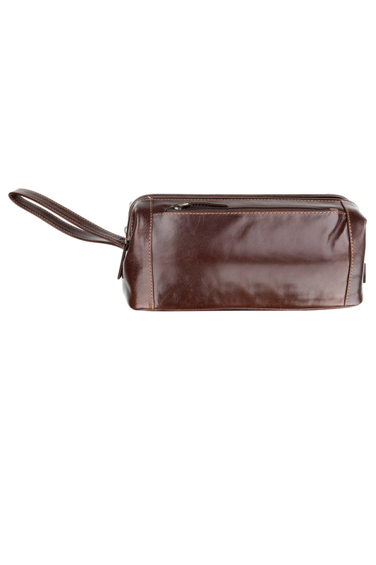 Косметичка WOODLAND LEATHER BR_4007_BROWN